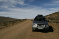 Unser Jeep in Lesotho
