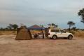 Zelten Kalahari
